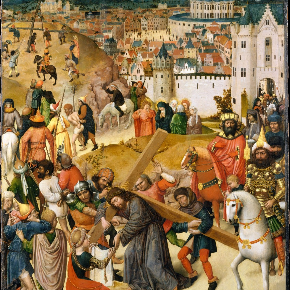 CHRIST BEARING THE CROSS Utrecht 1470