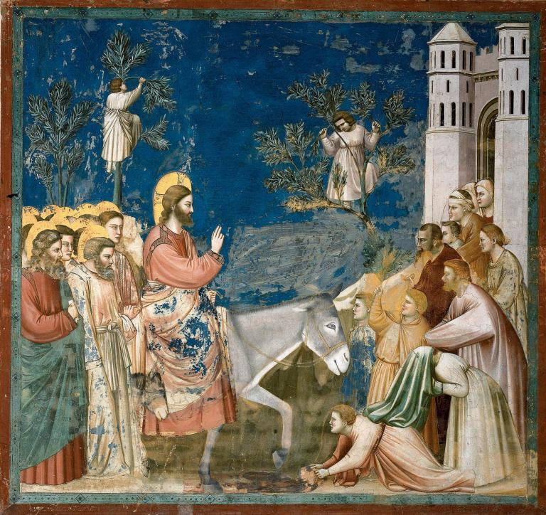 Giotto Christ Entering Jerusalem