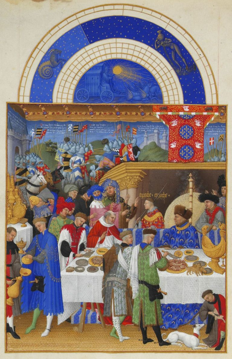 Limbourg Brothers Book of Hours and the Très Riches Heures Du Duc De Berry