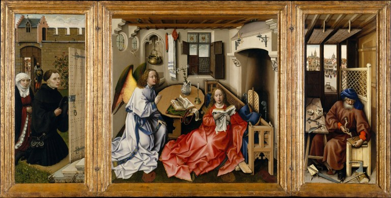 Robert Campin The Mérode Altarpiece