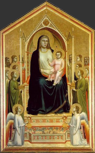Giotto Madonna Enthroned