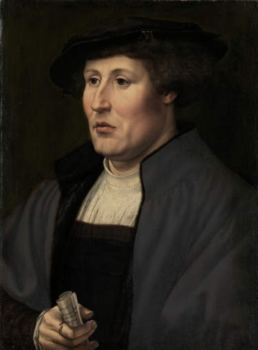 Portrait of a Man, ca. 1520–25 Jan Gossart (called Mabuse) (Netherlandish, ca. 1478–1532) Oil on wood; 18 1/2 x 13 3/4 in. (47 x 34.9 cm)