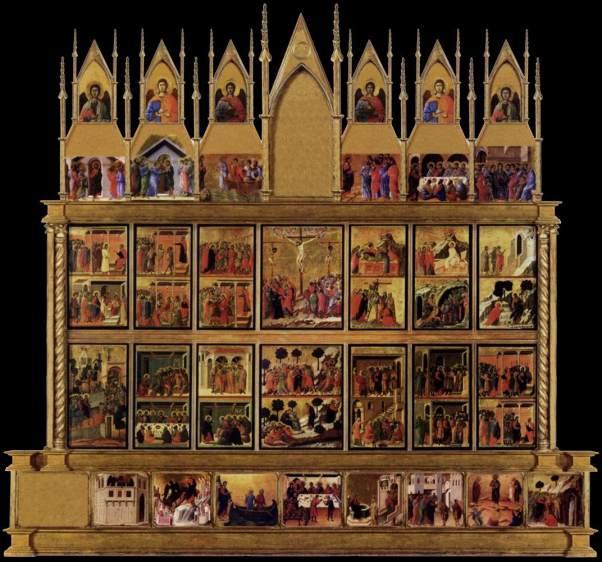 Duccio Maesta altar