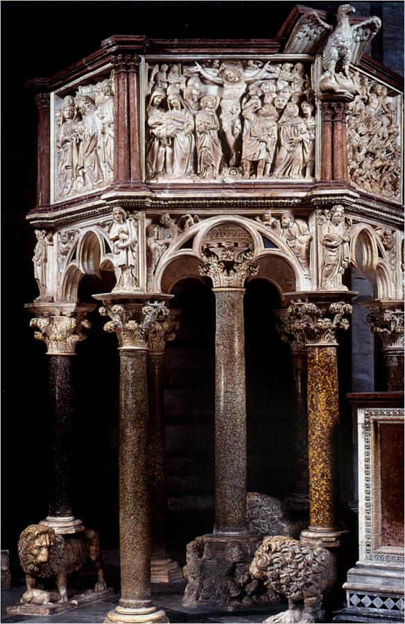 Pulpit of Pisa Cathedral