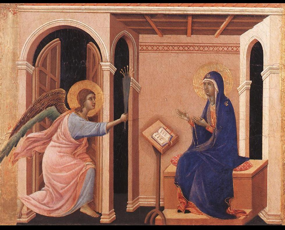 Duccio Annunciation of the Death of the Virgin
