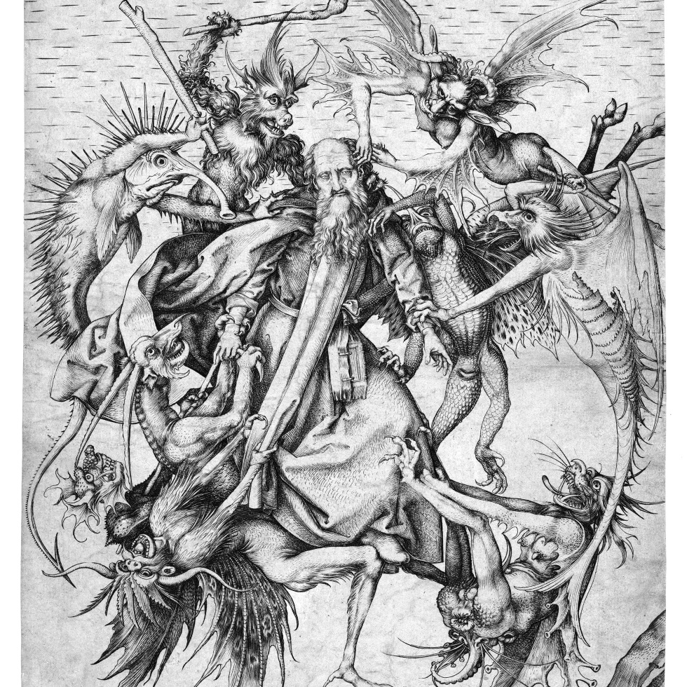 Martin Schongauer Temptation of St. Anthony