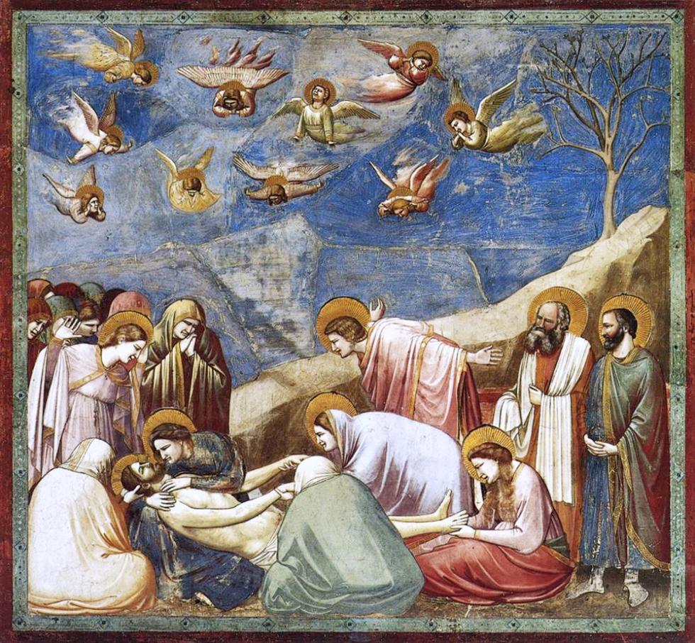 Giotto Lamentation of Christ